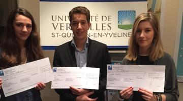 lauréats Bourse internationale 2014