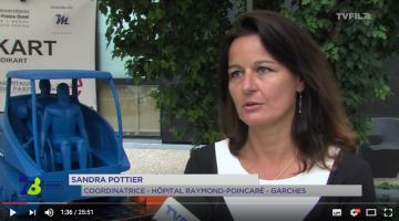 Sandra Pottier, Coordinatrice d'Etudes Cliniques & Innovation de l'Hôpital Raymond Poincaré