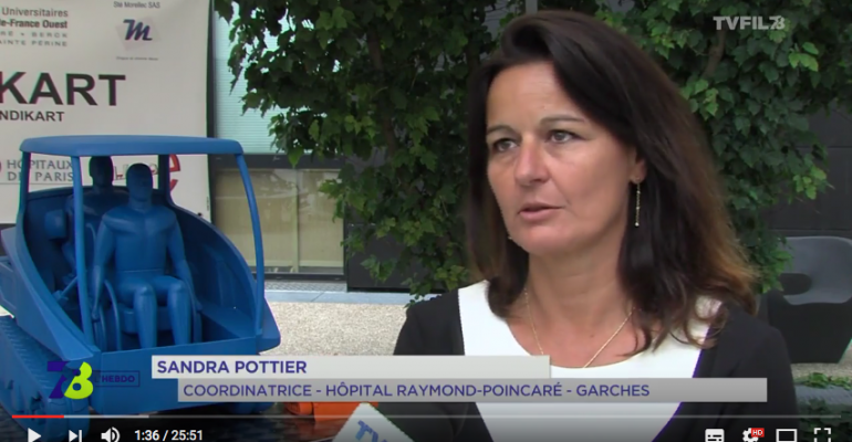 Sandra Pottier, Coordinatrice d'Etudes Cliniques & Innovation de l'Hôpital Raymond Poincaré